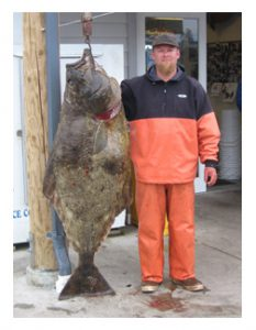 Matt Blume and his Halibut