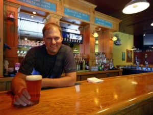 Tyler Brown, owner of Barley Brown's Brew Pub in John Day.