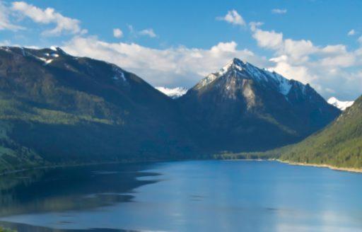 Wallowa Lake by David M. Cobb