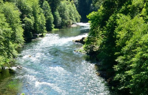 Umpqua River by Christian Heeb