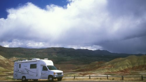 Taking In The Majestic Views Of Painted Hills Ideas For Oregon RV Camping Adventures