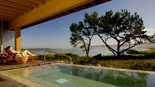Visitors to Salishan Spa enjoy stunning views of Siletz Bay. Photo by Mike Houska.