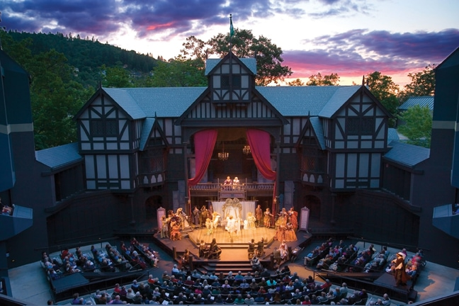 Elizabethan Theatre, Oregon Shakespeare Festival