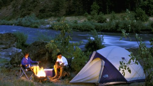 Camping along the Wild & Scenic Rogue River