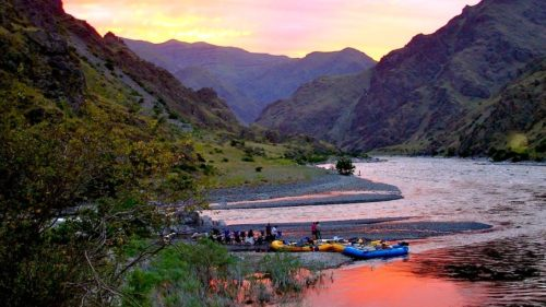 Pause to take in the incredible scenery, wildlife viewing and fishing along the Snake River.