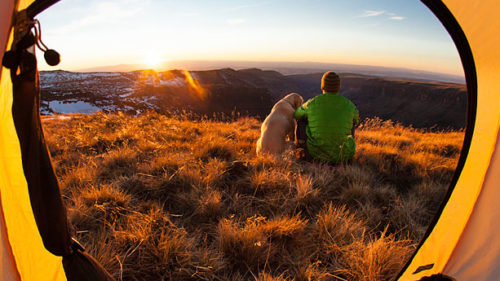 Camping at Steens Mountain (Photo credit: Tyler Roemer)