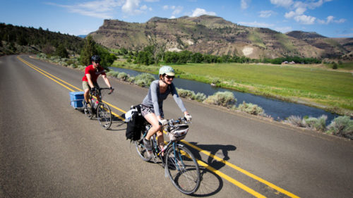 The Old West Scenic Bikeway is a challenging, 174-mile loop through the rural beauty of Eastern Oregon.