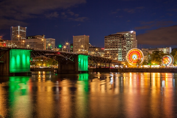 Capturing Oregon: Photographing Portland at Night - Travel Oregon