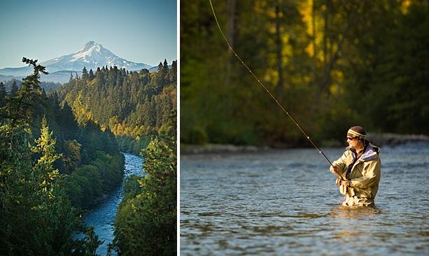 Chasing winter steelhead travel oregon for Hood river fishing