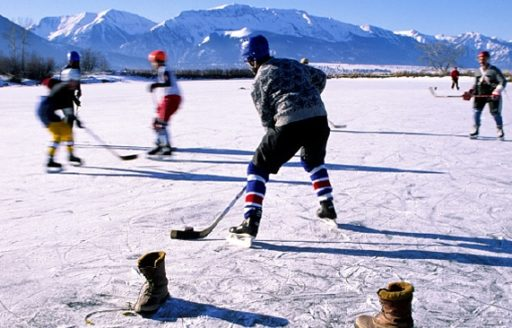 Lace up and play hockey in Enterprise this winter. (Photo credit:  Leon Werdinger)