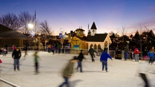 Bundle up and take a spin on the ice at one of the rinks throughout Central Oregon.
