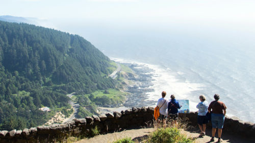 Cape Perpetua by Justin Bailie