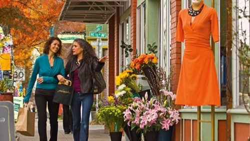 Start your day on Alberta Street, which has a host of unique boutiques like Garnish. (Photo credit: Travel Portland)