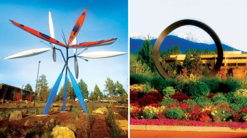 Bend's Roundabout Art Tour includes more than 20 pieces of art displayed in traffic circles about town.