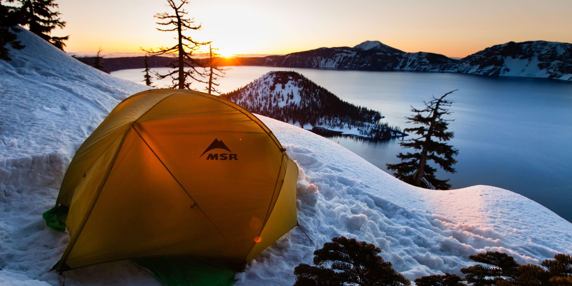 Wintertime at Crater Lake Travel Oregon