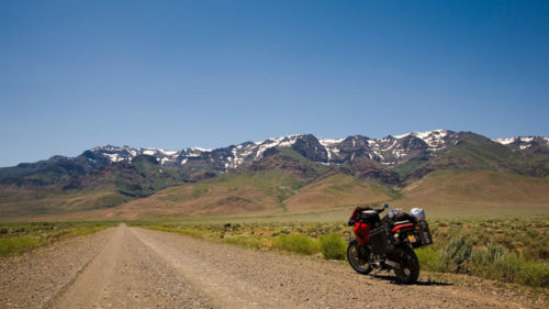 One of four scenic byways in Oregon's southeast corner, the East Steens Tour route affords gorgeous views of the state's rugged desert. (Photo credit: Robbie McClaran)
