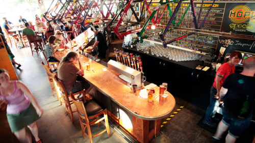 Hopworks Urban Brewery and Hopworks BikeBar proudly call themselves eco-brewpubs. In addition to using organic ingredients, the breweries are sustainably built and operated, renewably powered and carbon neutral.