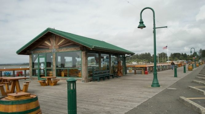 Bandon boardwalk