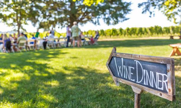 Field & Vine dinner