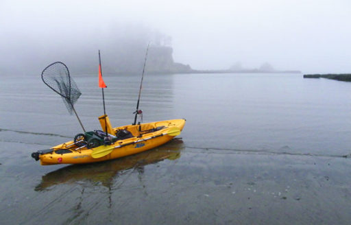 I was up early one summer morning with 40 other kayak anglers launching from a calm corner of the bay for the Angler of the Day Challenge kayak fishing tournament. (Photo credit: Andrew Insinga)