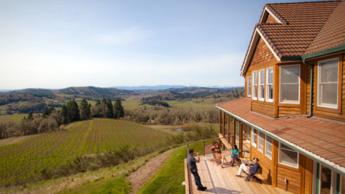 With five luxurious suites and three comfortable rooms, the spacious inn at Youngberg Hill Vineyards & Inn in McMinnville can set the stage for a quiet escape or a joyful group gathering.