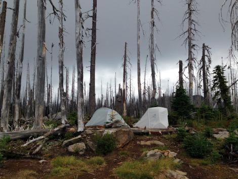 Camp at Koko Lake
