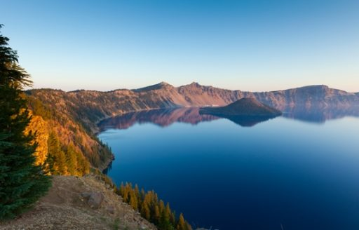 The PCT passes some of Oregon's most memorable sites, including Crater Lake, an ancient, sunken volcano and the deepest lake in the U.S. (Photo credit: Susan Seubert)