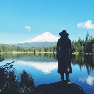 Trillium Lake on Mt. Hood