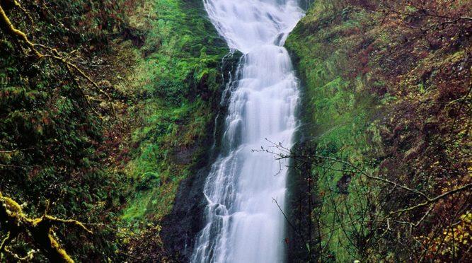 Oregon waterfalls
