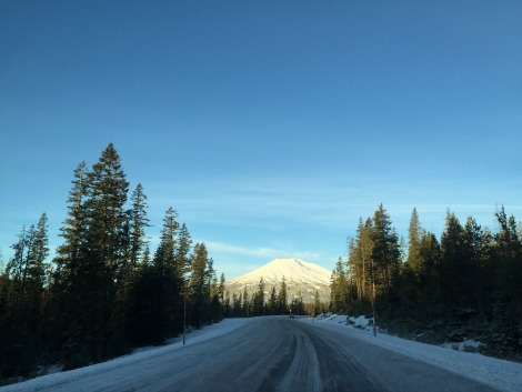 Road to Mt. Bachelor