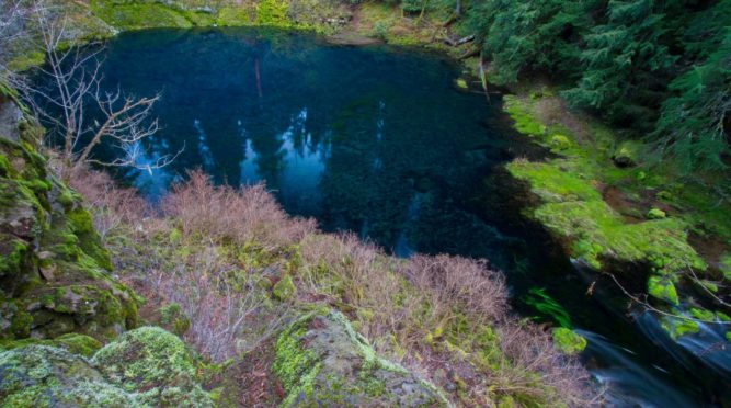 Tamolitch, the Blue Pool
