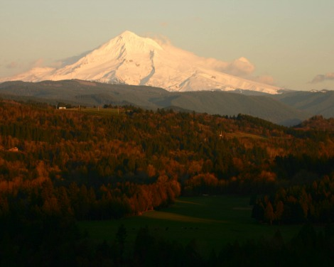 Jonsrud Viewpoint Mt. Hood