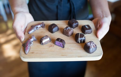Stop in at Arrowhead Chocolates in Joseph. (Photo credit: Eugenie Frerichs)