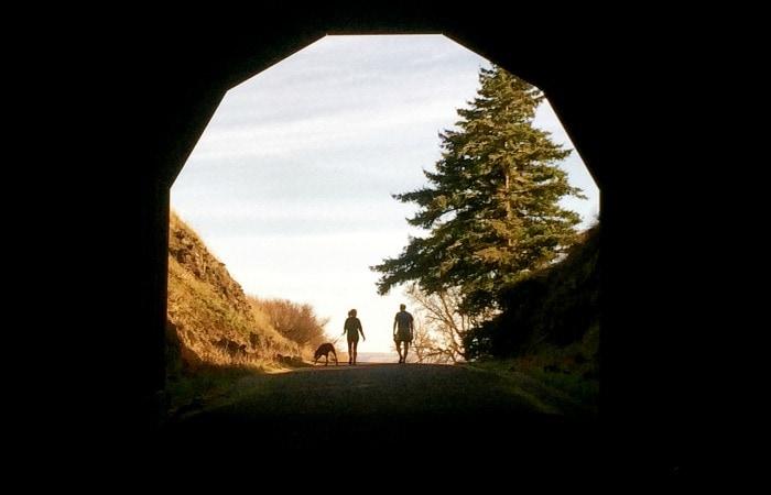 Mosier Twin Tunnels Trail