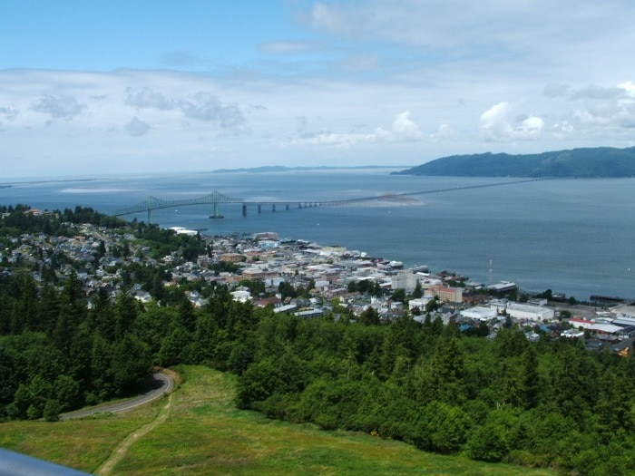 View from the Astoria Column
