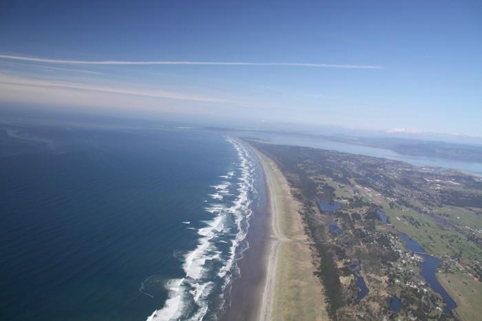 Oregon Coast paragliding