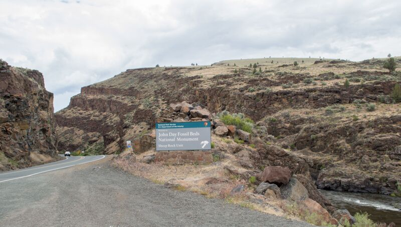 John Day Fossil Beds Oregon
