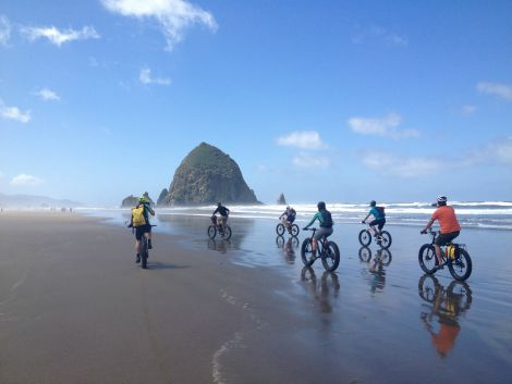 Cannon Beach Haystack Rock Oregon Coast