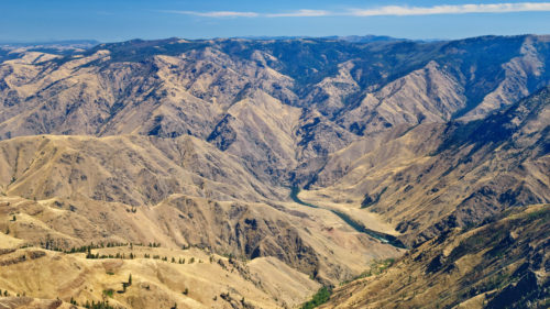 View of the Snake River from Hat Point (Photo by Greg Vaughn)