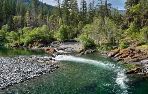 It was 1851 when prospectors first found gold in and around Josephine Creek and on the Illinois, Applegate and Rogue rivers. (Photo credit: Illinois River by Leon Werdinger)