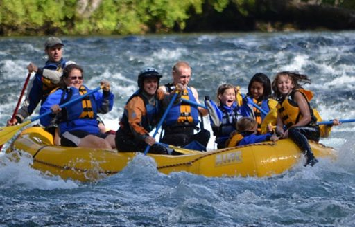 Rafting the McKenzie River