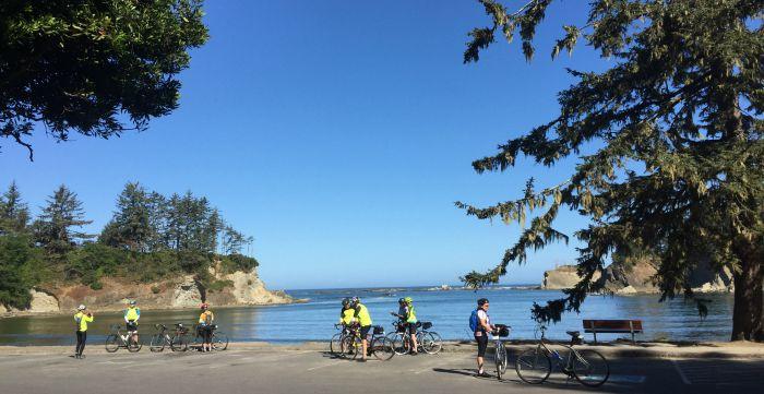 Oregon Coast bicycle ride