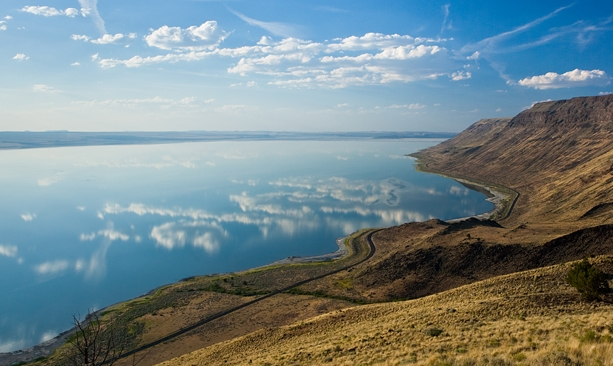 Lake Abert Oregon
