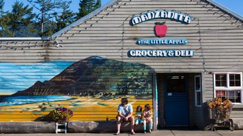 Behind the unassuming screen door of the Manzanita Market, you'll find all the supplies for your coastal campfire, and then some. (Photo credit: Susan Seubert)