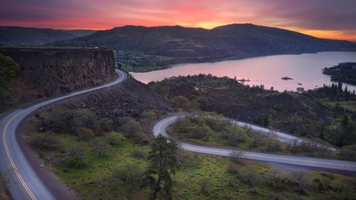 Driving The Historic Columbia River Highway
