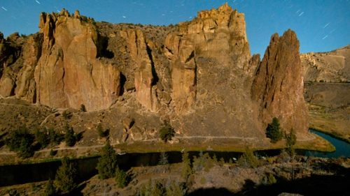 Smith Rock State Park is a great destination for a sunny winter hike. (Photo credit: Christian Heeb)