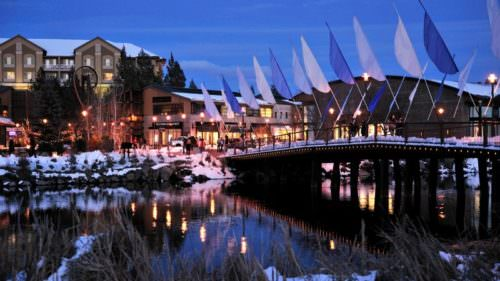 Held in Bend's bustling Old Mill District, Oregon WinterFest celebrates all things winter over three days every February. (Photo credit: Brian Becker)