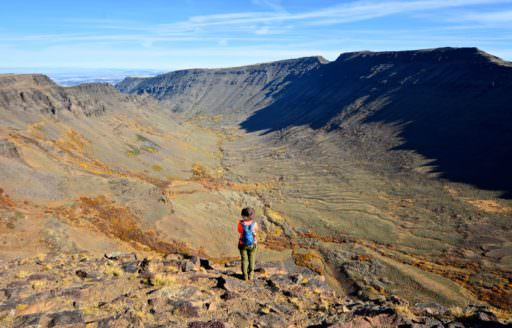 Kiger Gorge, the largest of four stunning glacial canyons that mark the western slopes of Steens Mountain. (Photo credit: Chaney Swiney)
