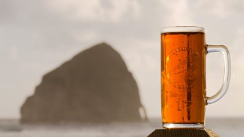 The Coast has more than a dozen excellent craft breweries, but you can't beat Pelican for the view. (Photo credit: Greg Vaughn)