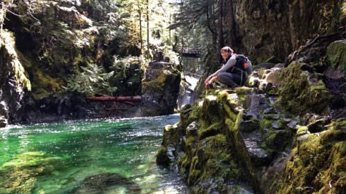The Opal Creek Wilderness is a lush hiker's paradise with blue-green pools and old-growth forest. (Photo credit: Nickie Bournias)